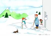 Frosty the Look-Alike