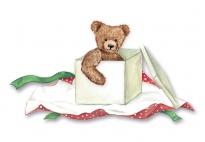 Das Geschenkpaket - ein weihnachtliches Fingerspiel