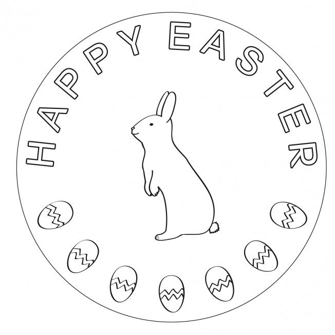 Happy Easter-Mandala