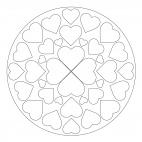 Herz-Mandala 5