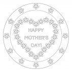 Happy Mother's Day Mandala
