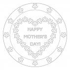 Happy Mother's Day Mandala 2