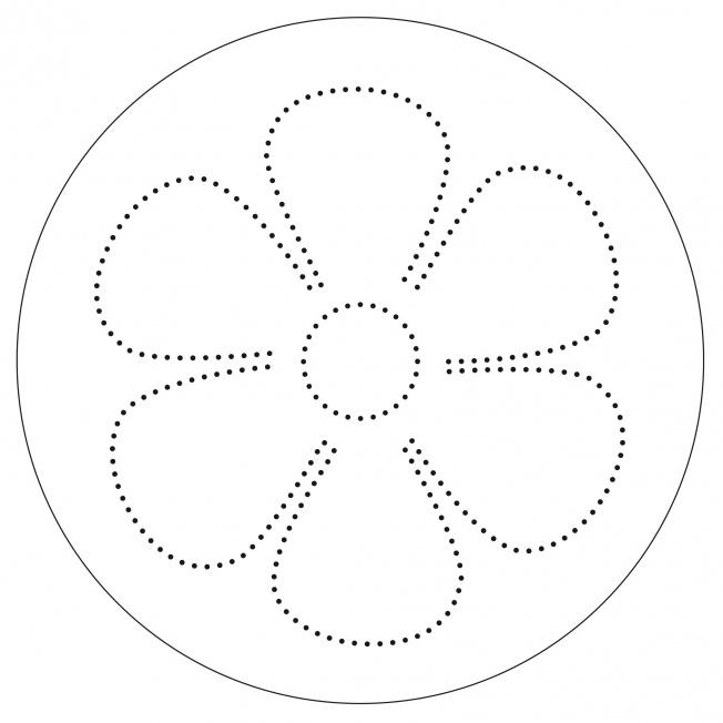 Blumen-Mandala
