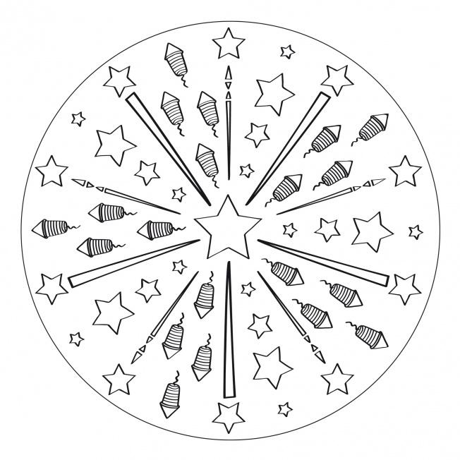 Independence Day-Mandala