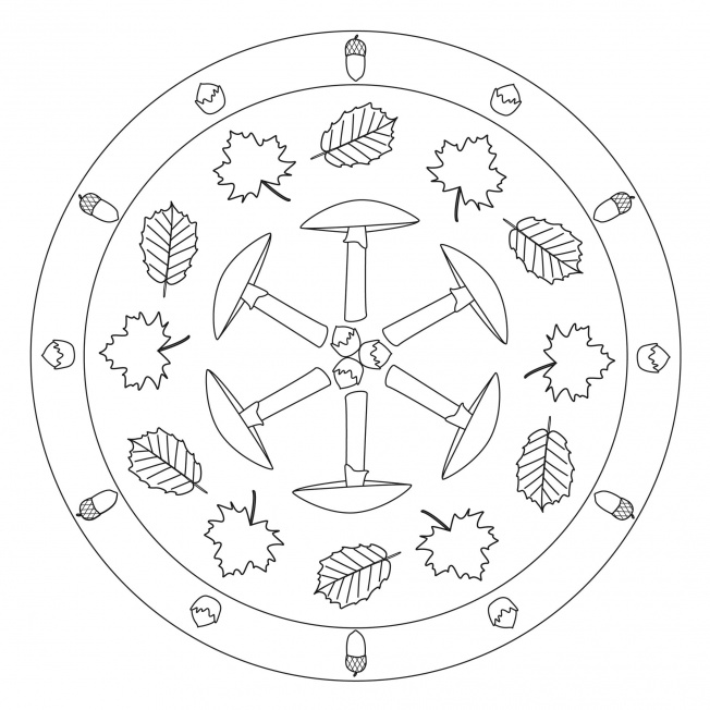 Pilz-Mandala 1