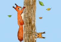Die Eichhörnchen - ein Herbstlied für den Kindergarten