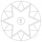 Star Advent Calendar - Day 1