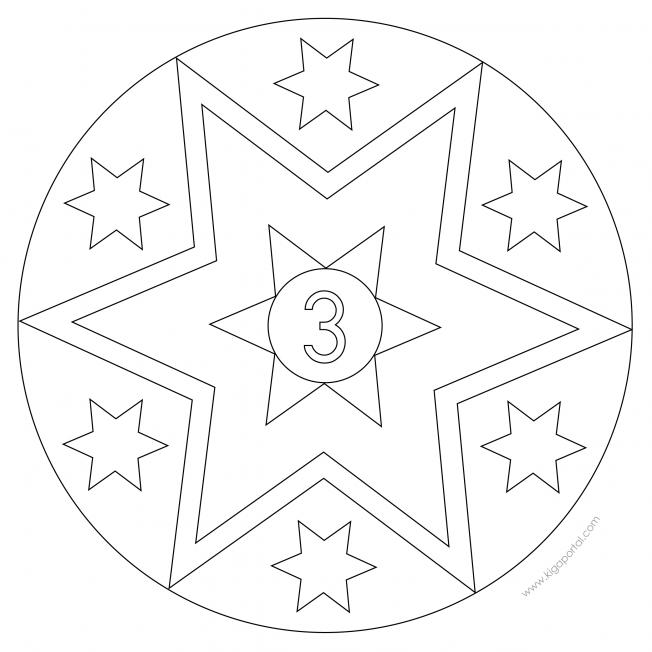 Sterne-Adventskalender 3