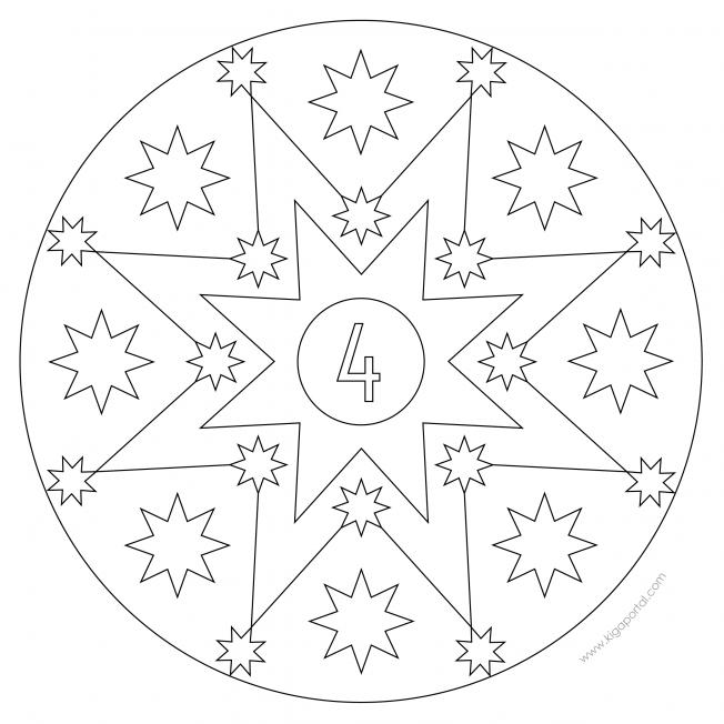 Sterne-Adventskalender 4