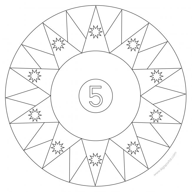 Sterne-Adventskalender 5