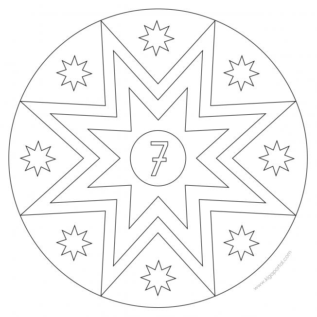 Sterne-Adventskalender 7