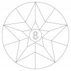 Sterne-Adventskalender 8