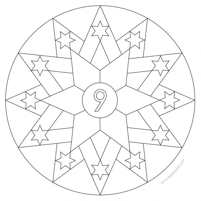 Sterne-Adventskalender 9