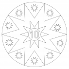 Sterne-Adventskalender 10