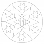 Sterne-Adventskalender 11