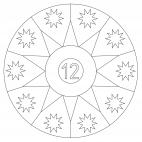 Sterne-Adventskalender 12