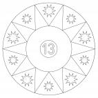 Sterne-Adventskalender 13
