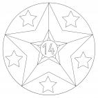 Sterne-Adventskalender 14