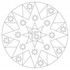 Sterne-Adventskalender 15