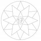 Sterne-Adventskalender 17