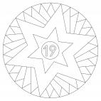 Sterne-Adventskalender 19