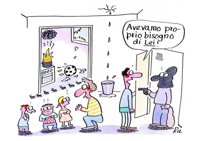 Scuola dell'infanzia_KiGaPortal_Fumetti_Renate Alf_Giorno stressante