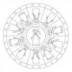 Kasperl-Mandala 2