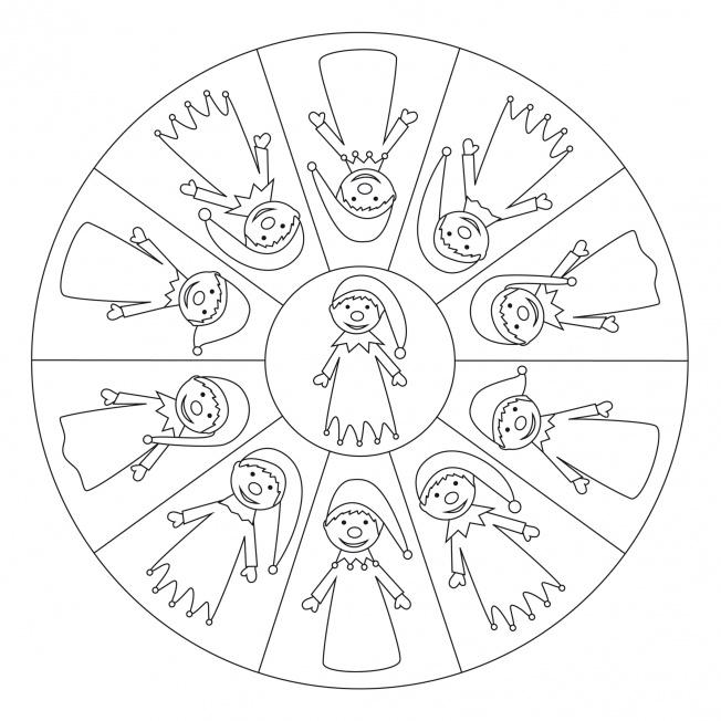 Kasperl-Mandala 1
