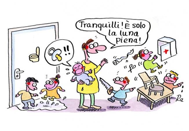 Kigaportal_scuola dell'infanzia_Cartoon_Renate Alf_Vollmond