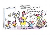 Cartoons f r kindergarten kita und schule for Raumgestaltung deutsch
