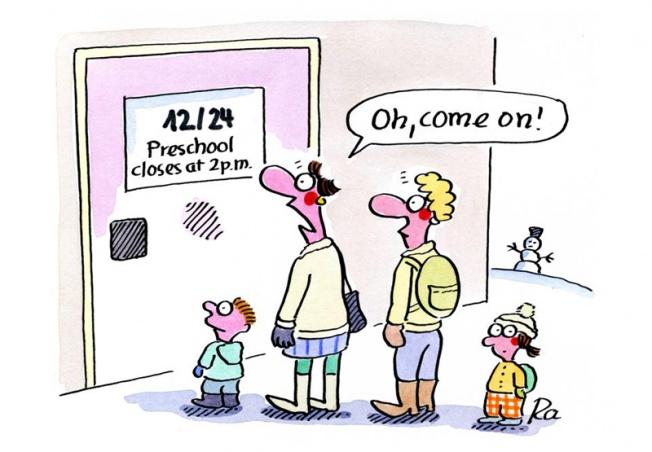 Kigaportal_preschool_Cartoon_Renate Alf_Heiligabend