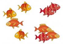 Zehn kleine Fische - ein sommerliches Kreisspiel