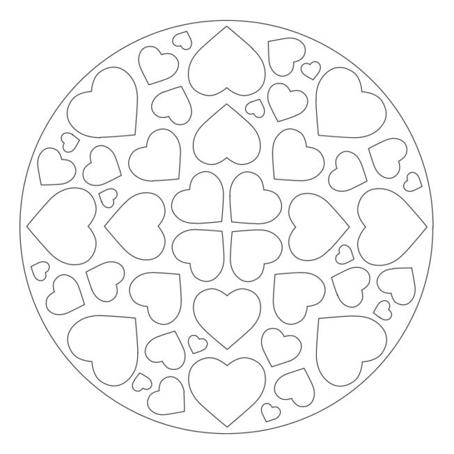 mandala kalp